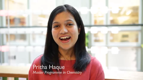 Master Programme in Chemistry