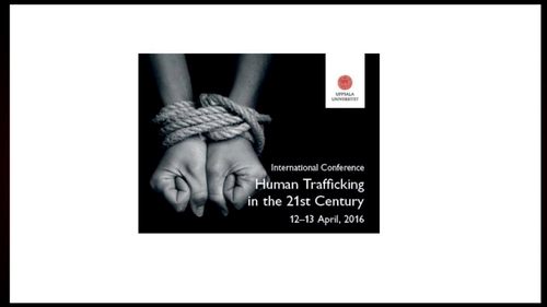 Session 1: Judicial tools to combat human trafficking, part 1