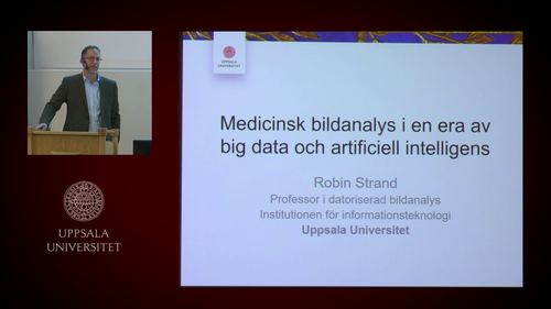 Robin Strand: Medicinsk bildanalys i en era av big data och artificiell intelligens.